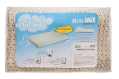ALMOHADA ECO JUNIOR CERVICAL NATIVA
