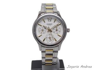 la mejor actitud d08fe 6f338 Reloj Casio Dama Combinado Multifunción