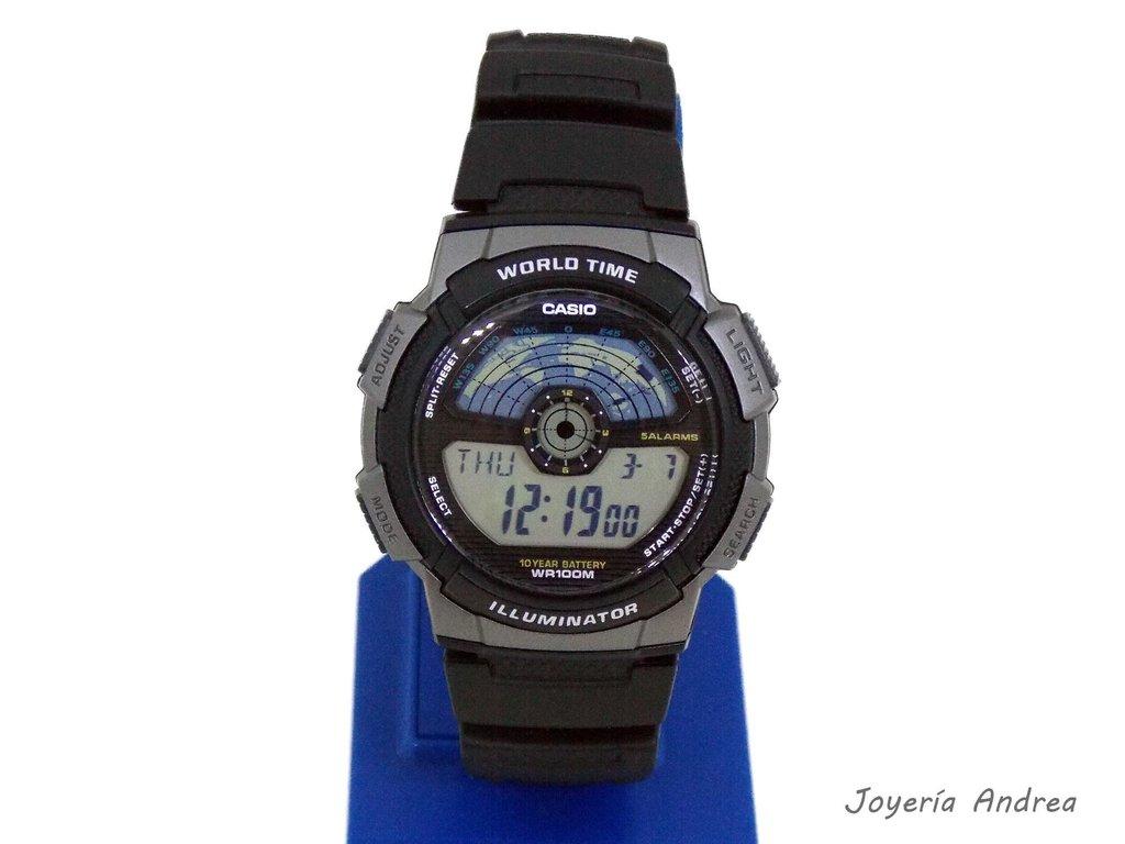 d63f2257a0c8 Reloj Casio Hombre Digital 100Mts. - Joyeria Andrea