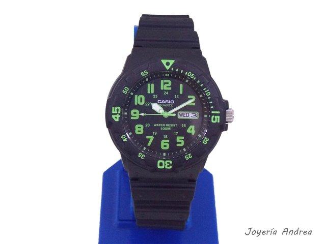 Reloj Casio Casio Hombre Reloj Deportivo Verde JF1KTlcu3