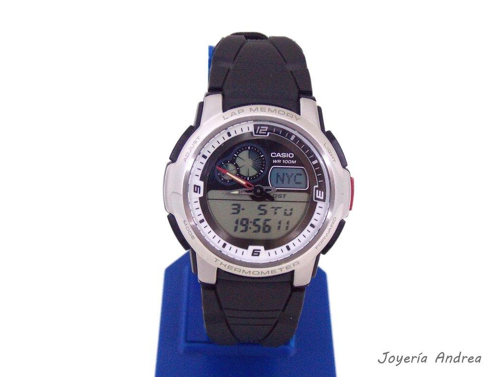 5940ea446b50 Reloj Casio Hombre Analógico Digital 50 Laps