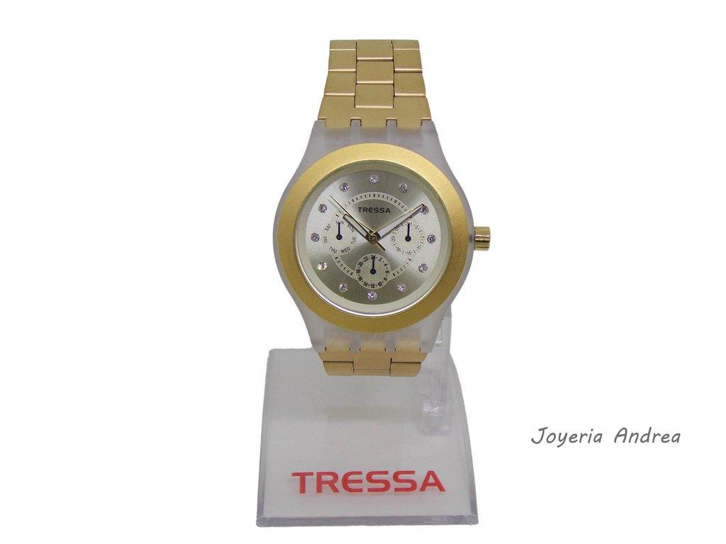 32abb5543d0f Reloj Tressa Mujer Acero de Colores - Joyeria Andrea