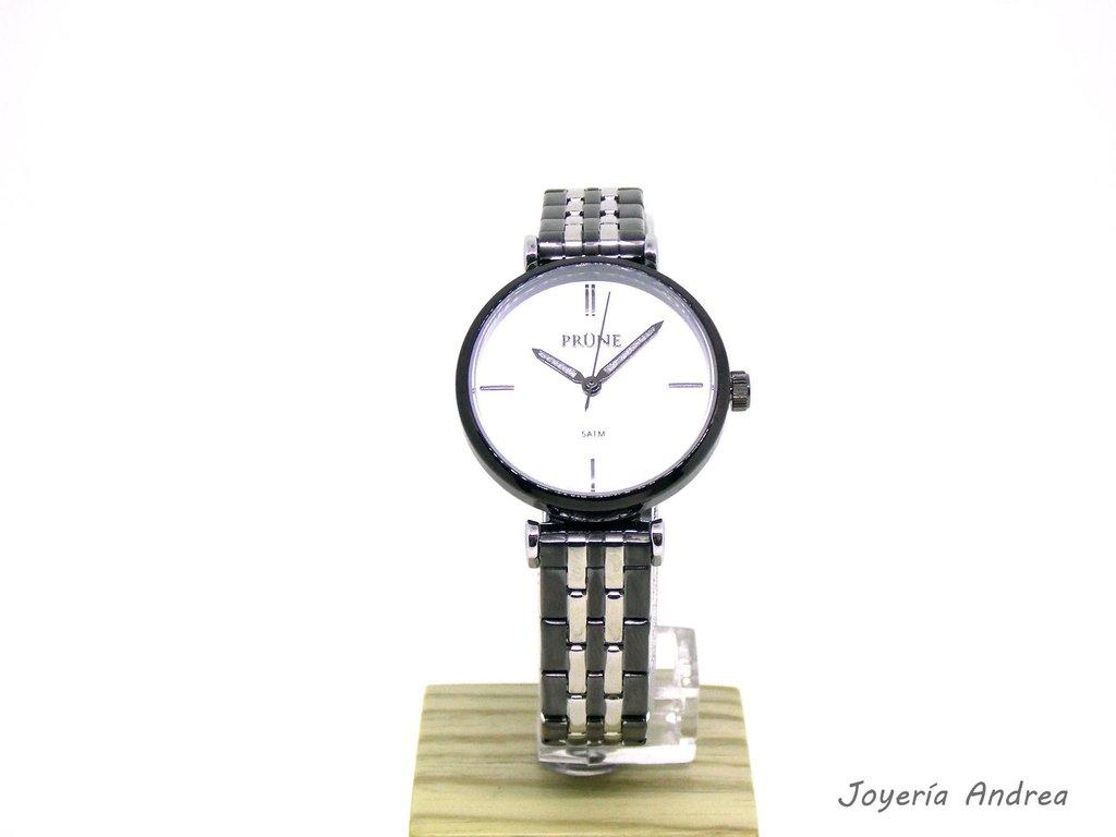 d79ab017c3b9 Reloj Mujer Prune Acero Color Negro - Joyeria Andrea