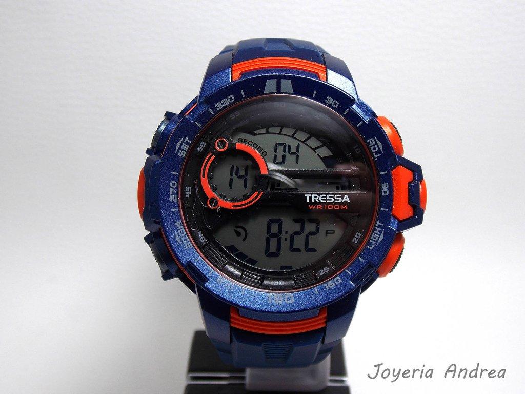 ... Reloj Tressa Hombre Digital de Caucho Azul. Envío gratis e1a258ddcf1f