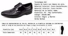 Zapato Air Leather 102101 - tienda online