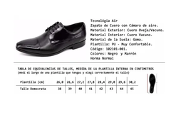 Zapato Air Leather 102101 (marrón) - comprar online