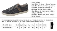 Zapatilla Urban Shore 209116