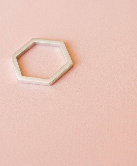 Hexagon Ring - buy online