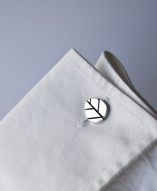 Image of Leaf Cufflinks