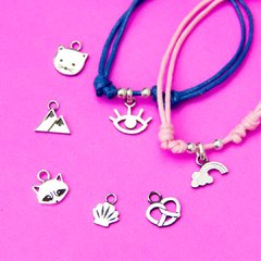 Pulsera cordón base, color a elección