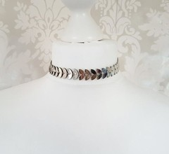 Choker Arrow Silver