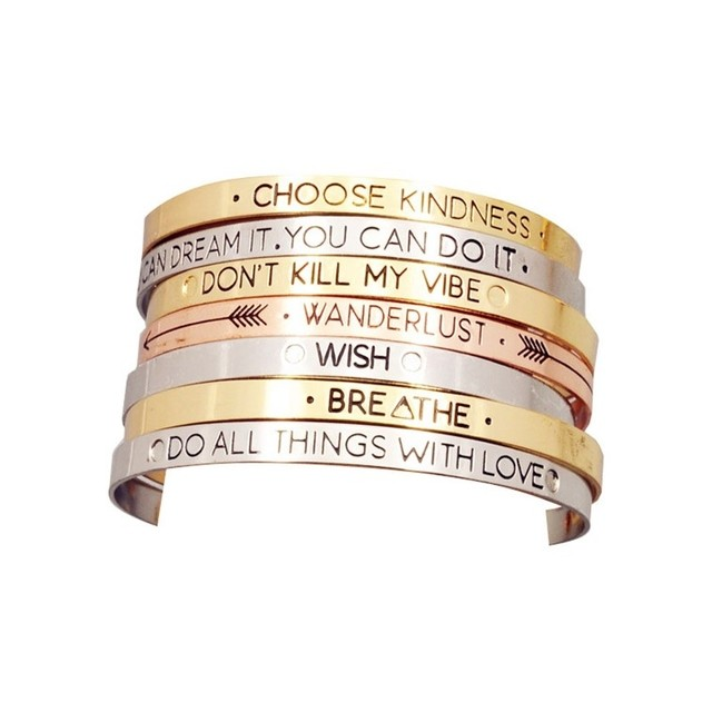 bracelet Never Give Up - comprar online