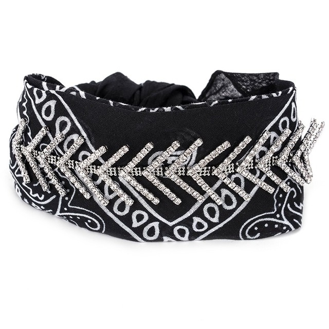 Choker Lenço Star Black - urban22