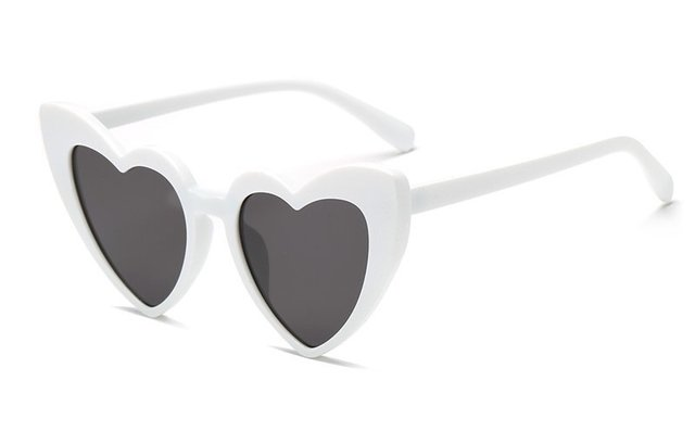 Óculos Heartbreak White - comprar online
