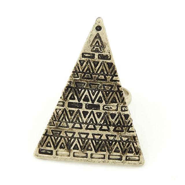 Anel Triangle Golg - urban22