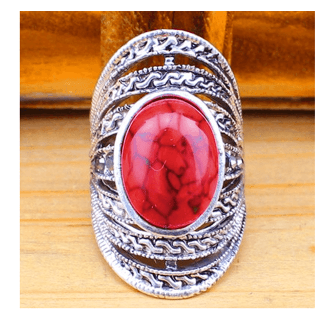 Anel Stone red  - comprar online