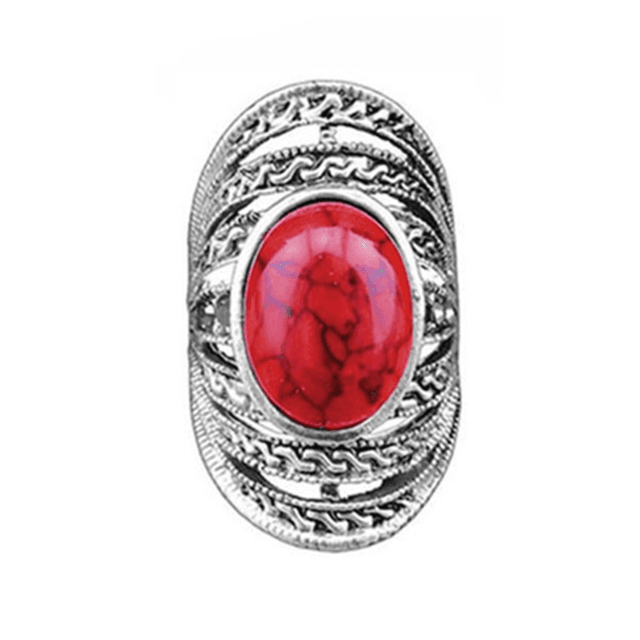 Anel Stone red