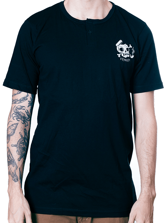 Captain Skull - Henley Neck