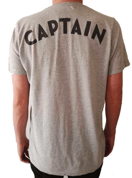 Captain Jack Tee - Gray