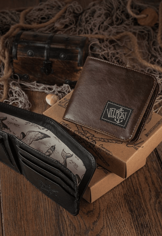 Captain Jack Wallet Brown - comprar online