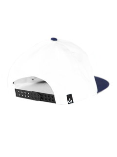 Gorra desestructurada anzuelo blanca on internet