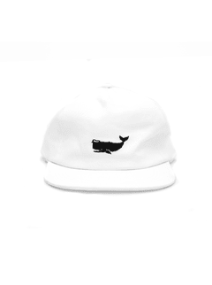 Gorra Jack blanca desestructurada on internet