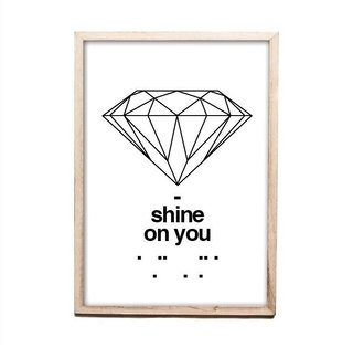 CUADRO SHINE ON YOU