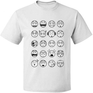 Camiseta Emoticon + 4 canetinhas