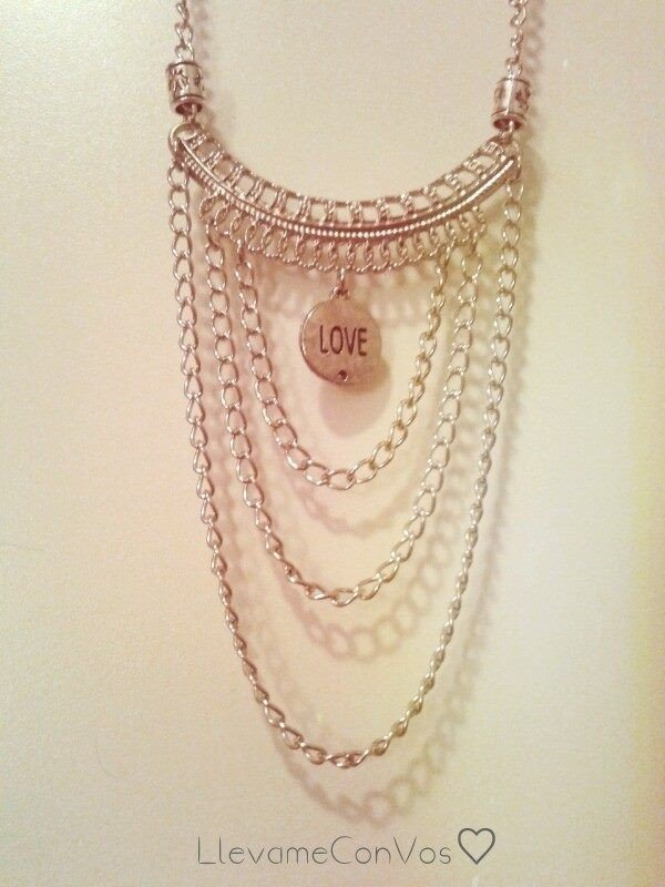 Collar Love - comprar online