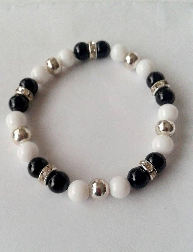Pulsera Black and White # Promo en internet