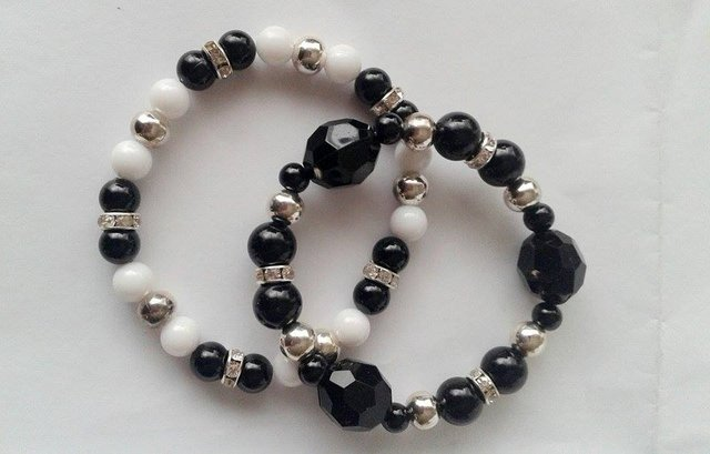 Pulsera Black and White # Promo