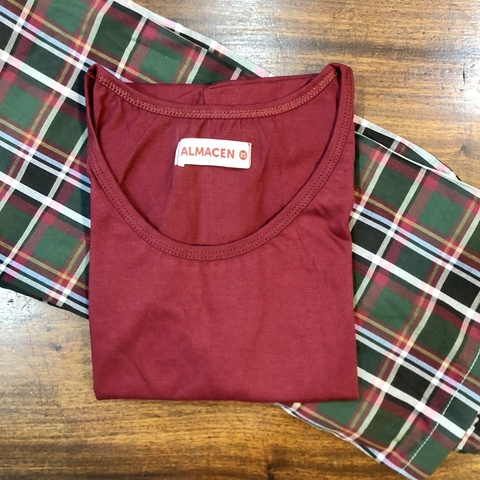 CONJUNTO BASIC BORDO 'XS'