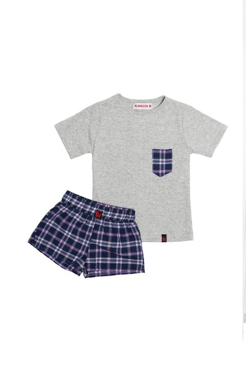 CONJUNTO SCOTISH KIDS