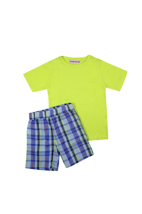 CONJUNTO BASIC LIME