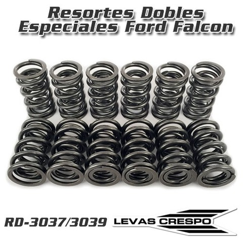 Resortes de Válvula Dobles Especiales para Ford Falcon 60/130 kgs