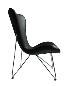 Sillon Jacobsen Base Eiffel / Negro - INTEGRAL DECO