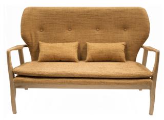 silln sof retro vintage lnea escandinava modelo margaret