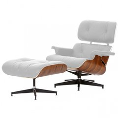Herman Miller Chaise Lounge/ Blanco