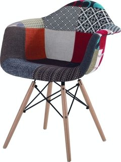 Sillon Eames Patchwork New Model - comprar online