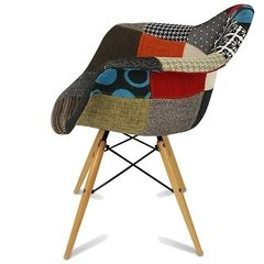 Sillon Eames Patchwork New Model