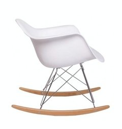 Sillon Eames Pvc Rocking Chair Rar