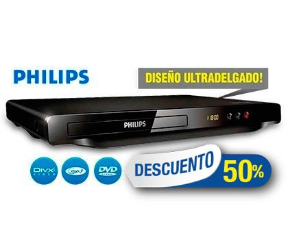 Reproductor DVD PHILIPS (DVP3600X77)