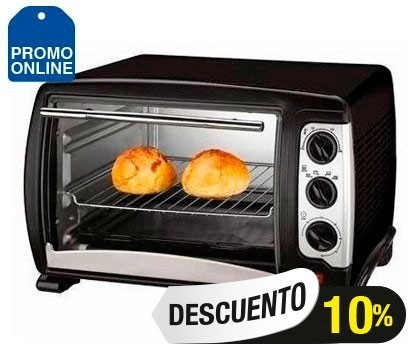 HORNO ELECTRICO RANSER 25 Lts (HE-RA25)