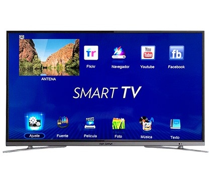 Smart TV LED ken brown 49