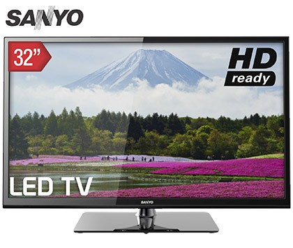 "LED TV 32"" SANYO HD"