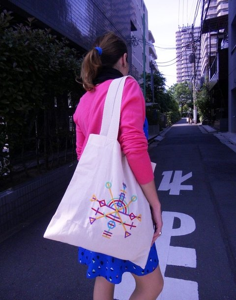 Tote Bag Spring Constellations