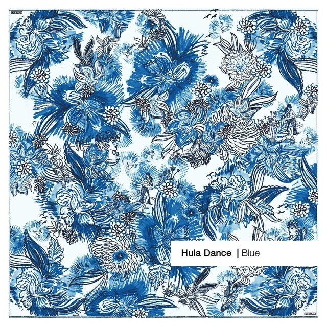 Hula Dance Blue SMALL