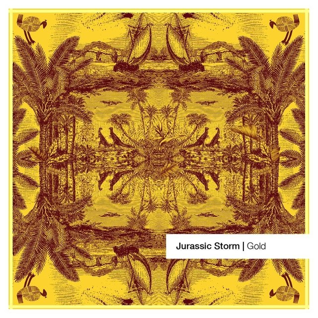 Jurassic Storm Yellow Large