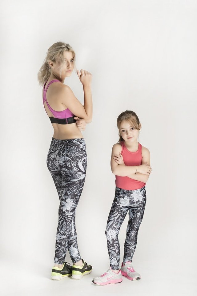 Leggings Deep Jungle Black
