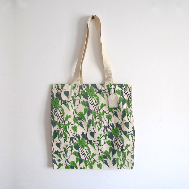 TOTE BAG PHILODENDRON